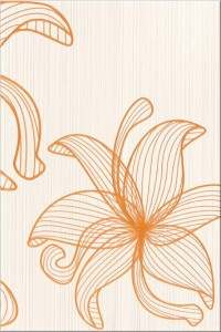 Centro Lorena orange flower C 30x45 Opoczno